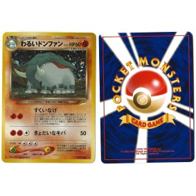 Dark Donphan (1) No.232 Darkness, and to Light... N4 Holo Unlimited Japonais Near Mint