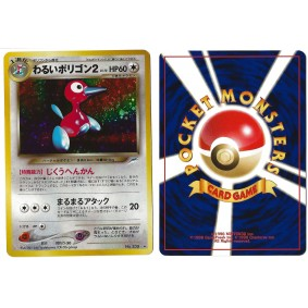 Dark Porygon2 (1) No.233 Darkness, and to Light... N4 Holo Unlimited Japonais Near Mint