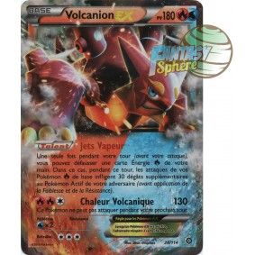 Volcanion EX - Ultra Rare 26/114 - XY 11 Offensive Vapeur