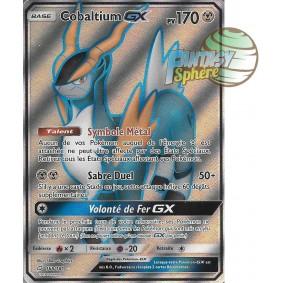 Cobaltium GX - Full Art Ultra Rare  168/181 - Soleil et Lune 9 Duo de Choc