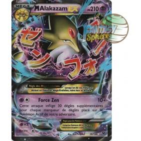 Méga Alakazam EX - Ultra Rare 26/124 - XY 10 Impact des Destins