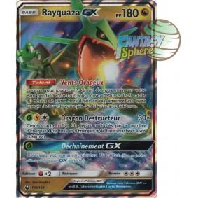 Rayquaza GX - Ultra Rare 109/168 - Soleil et Lune 7 Tempête Céleste