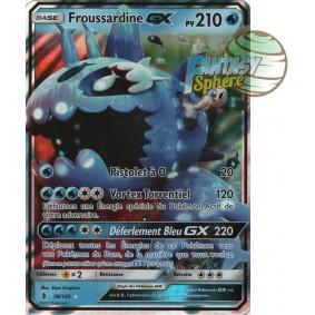 Froussardine GX - Ultra Rare 38/145 - Soleil et Lune 2 Gardiens Ascendants
