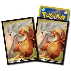 Proteges Cartes - Standard - Pokemon - Reshiram & Charizard (64)