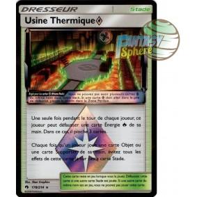 Usine Thermique - Prisme Rare 178/214 - Soleil et Lune 8 Tonnerre Perdu