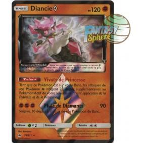 Diancie - Prisme Rare 74/131 - Soleil et Lune 6 Lumière Interdite