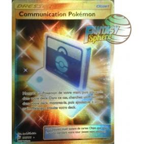 Communication Pokémon - Secret Rare 196/181 - Soleil et Lune 9 Duo de Choc