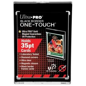 UP - One-Touch Black Border 35PT Anti-UV Magnetic Holder (X1)