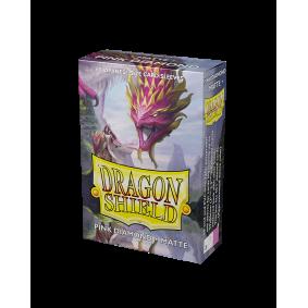 Dragon Shield Small Sleeves - Matte Pink Diamond (60)