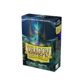 Dragon Shield Small Sleeves - Matte Jade (60)