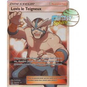 Lovis le Teigneux - Full Art Ultra Rare  129/131 - Soleil et Lune 6 Lumière Interdite