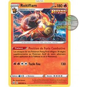 Roitiflam - Holo Rare 25/163_H - Epee et Bouclier Style de Combat