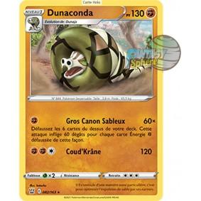 Dunaconda - Holo Rare 82/163_H - Epee et Bouclier Style de Combat