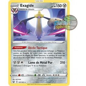 Exagide - Holo Rare 107/163_H - Epee et Bouclier Style de Combat