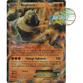 Regirock EX - Ultra Rare 43/124 - XY 10 Impact des Destins