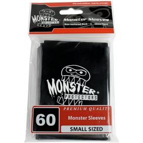 Monster - Monster Logo Small Sleeves - Glossy Black - Noir (60)