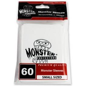 Monster - Monster Logo Small Sleeves - Glossy White - Blanc (60)