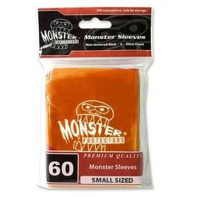 Monster - Monster Logo Small Sleeves - Glossy Orange - Orange (60)