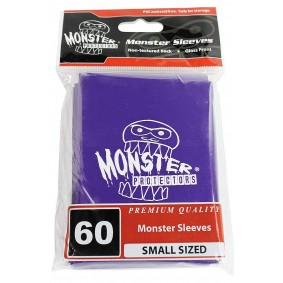 Monster - Monster Logo Small Sleeves - Glossy Purple - Violet (60)