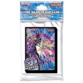 """Yu-Gi-Oh! Protèges Cartes """" Les Magiciens des Ténèbres """" (50ct)"""