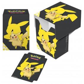 Pokémon - Deck Box - Pikachu - Black Cover Ver.