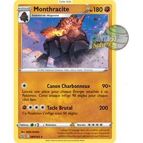 Monthracite - Holo Rare 80/163_H - Epee et Bouclier Style de Combat