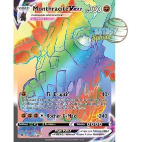 Monthracite VMAX - Secret Rare 189/185 - Epee et Bouclier 4 Voltage Eclatant