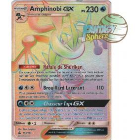 Amphinobi GX - Secret Rare 133/131 - Soleil et Lune 6 Lumière Interdite