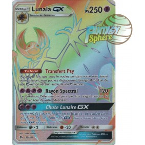 Lunala GX - Secret Rare 153/149 - Soleil et Lune 1