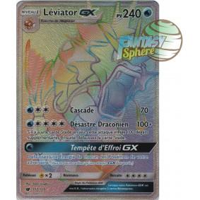 Léviator GX - Secret Rare 112/111 - Soleil et Lune 4 Invasion Carmin