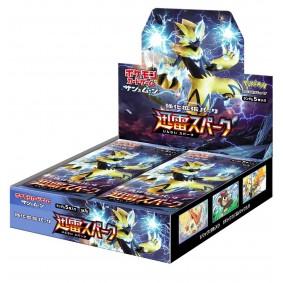 Pokémon - Display - Boite de 30 Boosters - Thunderclap Spark [SM7a] - JP
