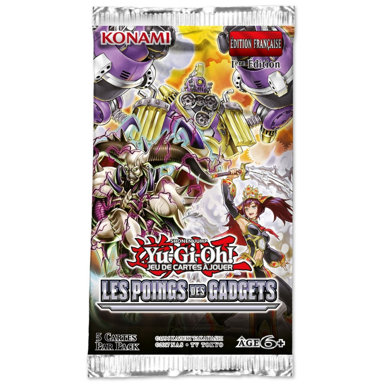 Yu-Gi-Oh! - Booster - Les Poings des Gadgets - FR