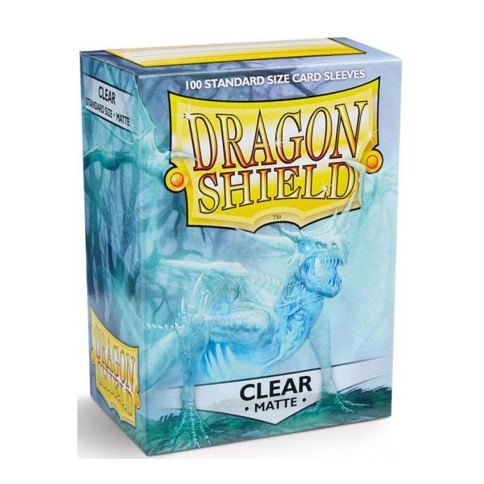 Dragon Shield - Standard Sleeves - Matte Clear (100)