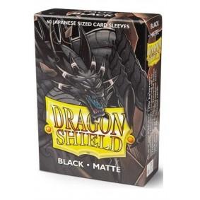 Dragon Shield Small Sleeves - Matte Black (60)