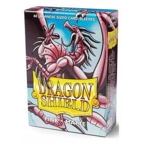 Dragon Shield Small Sleeves - Matte Pink (60)