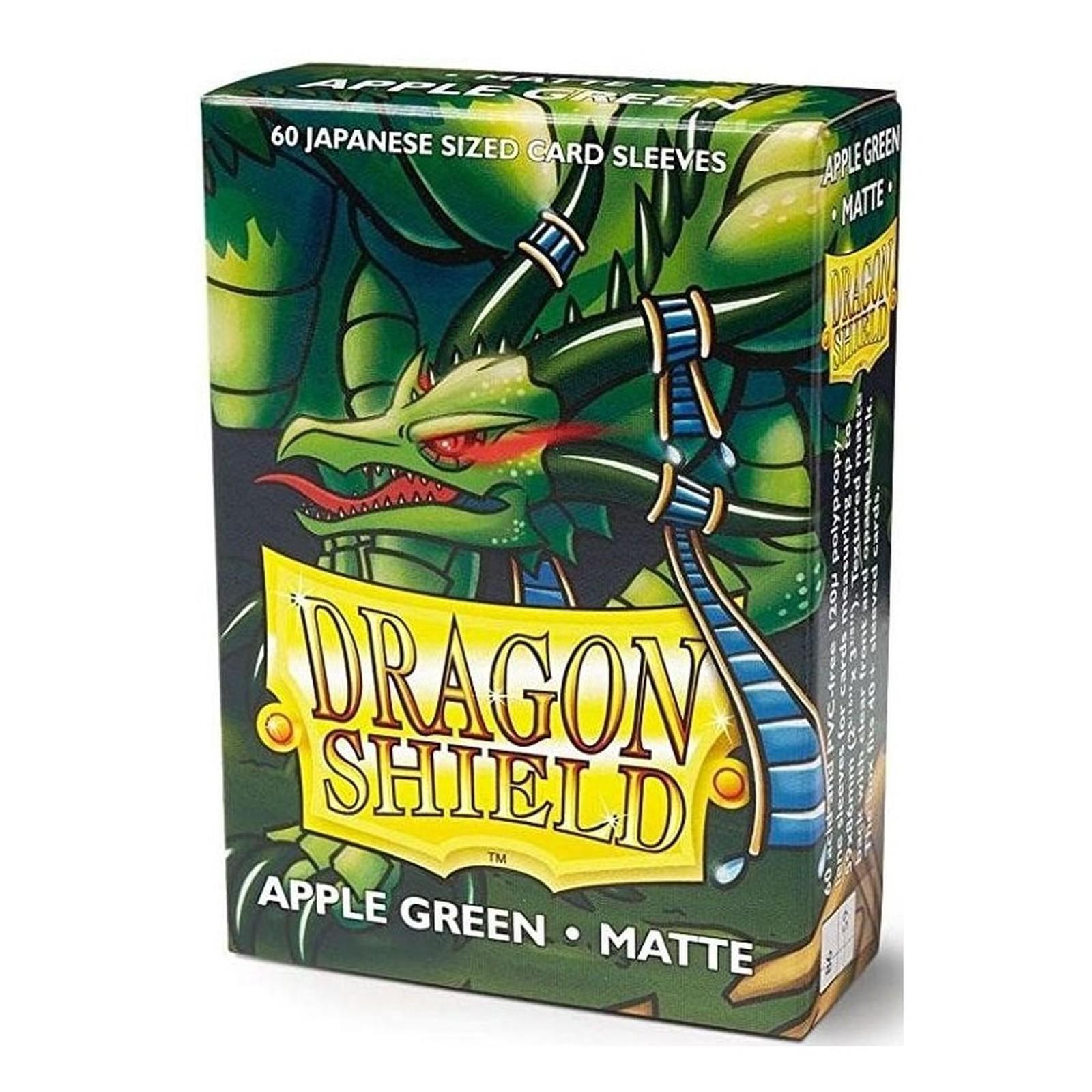 Dragon Shield Small Sleeves - Matte Apple Green (60)