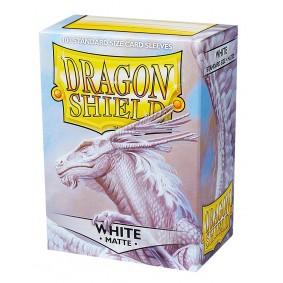 Dragon Shield - Standard Sleeves - Matte White (100)