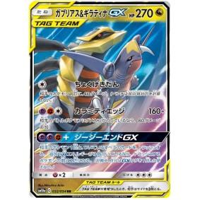 Garchomp & Giratina GX 032/054 GG End Ultra Rare  Japonais
