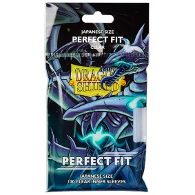Dragon Shield - Small Japanese Size Perfect Fit Inner Sleeves - Clear (100)