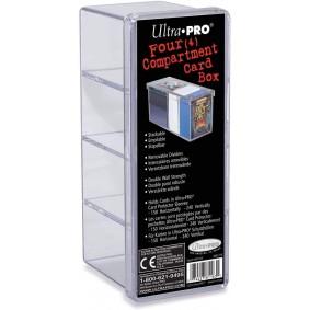 UP - Boite à 4 Compartiments - Transparente