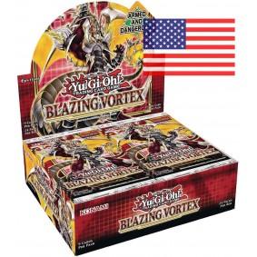 *US Print SEALED* Yu-Gi-Oh! - Display - Boite de 24 Boosters - Blazing Vortex - AMERICAIN