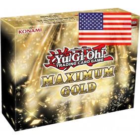 *US Print SEALED* Yu-Gi-Oh! - Maximum Gold - 1st Edition