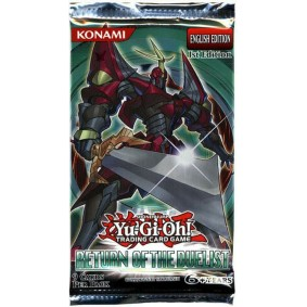 Yu-Gi-Oh! - Booster - Return of The Duelist - EN - 1st Edition