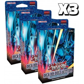 Yu-Gi-Oh! - Lot de 3 - Decks des Dieux Egyptiens : Obelisk le Tourmenteur - FR - 1er Edition
