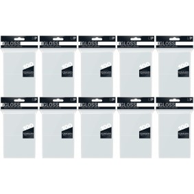 Ultra Pro - Protèges Cartes - Standard - Clear / Transparent (1000)