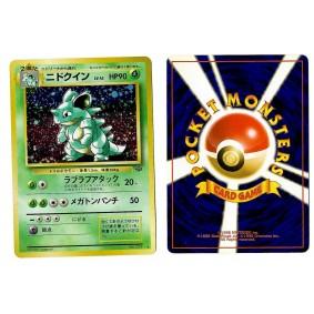 Nidoqueen (2) No.031 Pokémon Jungle JU Holo Unlimited Japonais Voir Scan