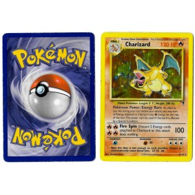 Charizard 3/110 Legendary Collection Holo Unlimited Anglais Voir Scan