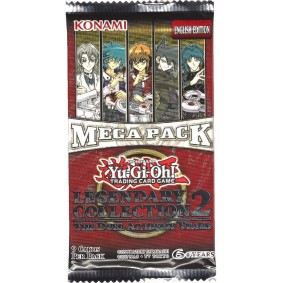 *US Print SEALED* Yu-Gi-Oh! - Booster - Legendary Collection 2 : The Duel Academy Years Mega Pack - Unlimited