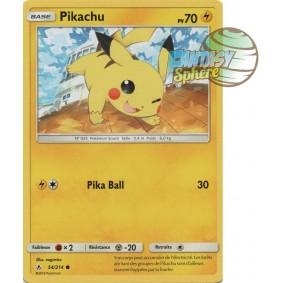 Pikachu - Commune 54/214 - Soleil et Lune 10 Alliance Infaillible