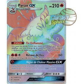 Pyrax GX - Secret Rare 252/236 - Soleil et Lune 12 Éclipse Cosmique